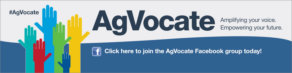 Join the AgVocate Facebook group